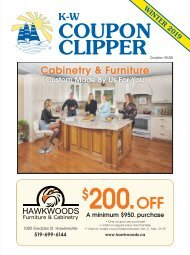 Coupon Clipper: Kitchener & Waterloo - 2019 Winter