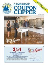 Coupon Clipper: Cambridge - 2019 Winter