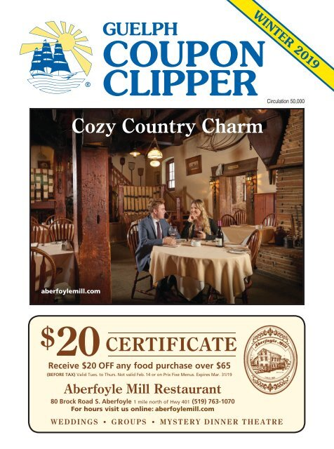 Coupon Clipper: Guelph - 2019 Winter