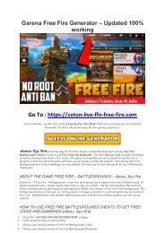garena free fire hack - tool4u  vip/ff