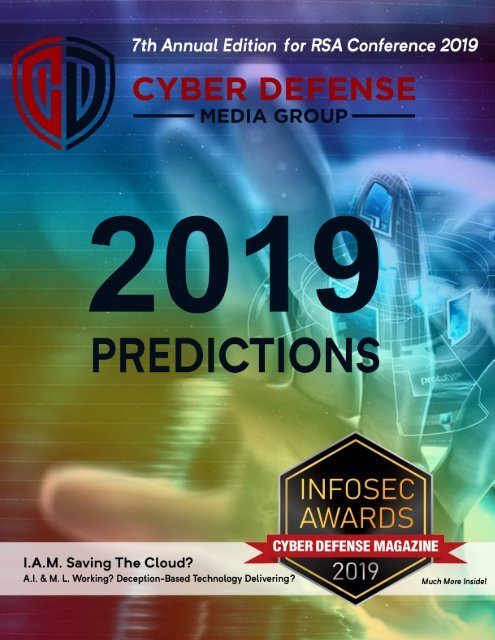 Cyber Defense Magazine - Annual RSA Conference 2019 - Print Edition