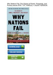 (EMPHASIZE) Download Why Nations Fail Origins Prosperity ebook eBook Mobi