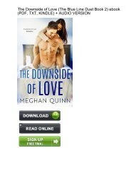 (QUICK) Downside Love Blue Line Duet ebook eBook PDF