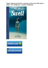 (VIBRANT) Download Swell Sailing Pacific Search Surf ebook eBook Mobi