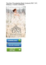 (FORTUNE) One selection Book 3 ebook eBook PDF Download
