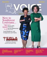 The Voice of Southwest Louisiana March 2019 Issue