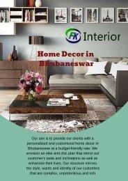 Home Decor in Bhubaneswar1