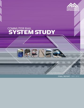 MAG Commuter Rail System Study - Arizona Department of ...