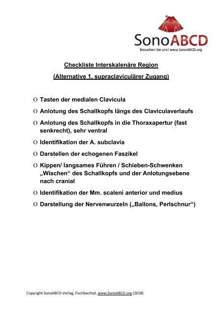 Ultraschall-geführte Gefäßpunktion und Regionalanästhesie: SOCRATES Buch Online Version