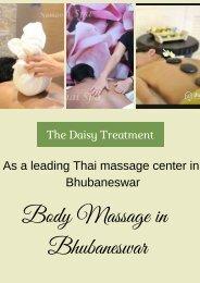 Body Massage in Bhubaneswar
