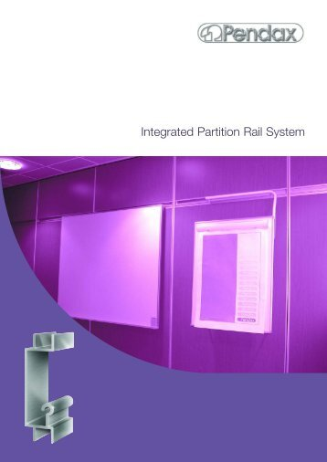 Integrated Partition Rail Systems - RIBA Product Selector