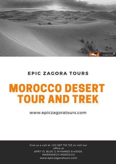 Morocco Desert Tour and Trek