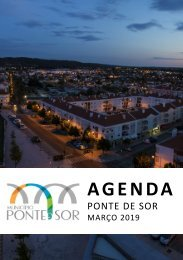 Agenda Ponte de Sor - março 2019