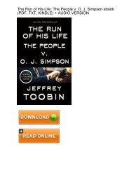 (FIRST EVER) Download Run His Life People Simpson ebook eBook PDF