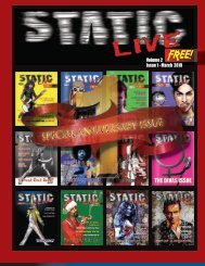 Static Live Magazine March 2019