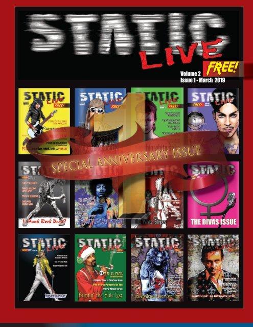 Static Live Magazine March 2019