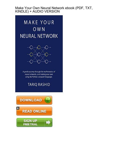 Download ebook neural networks