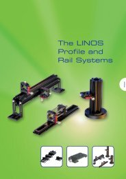 The LINOS Profile and Rail Systems - Qioptiq Q-Shop