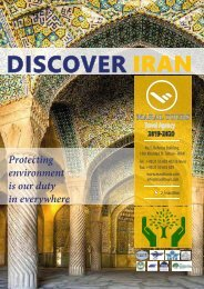 DISCOVER IRAN 2019 BY MARAL TOURS