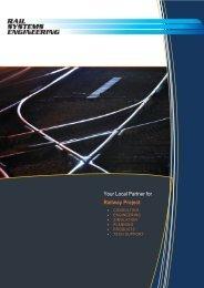 Railway Project - Rail Systems Engineering Sdn. Bhd