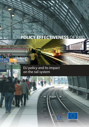 Rail transport: EU policy and its impact on the rail system