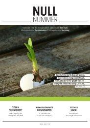 Gemeinsam Glauben // Ausgabe 0 (Null Nummer)