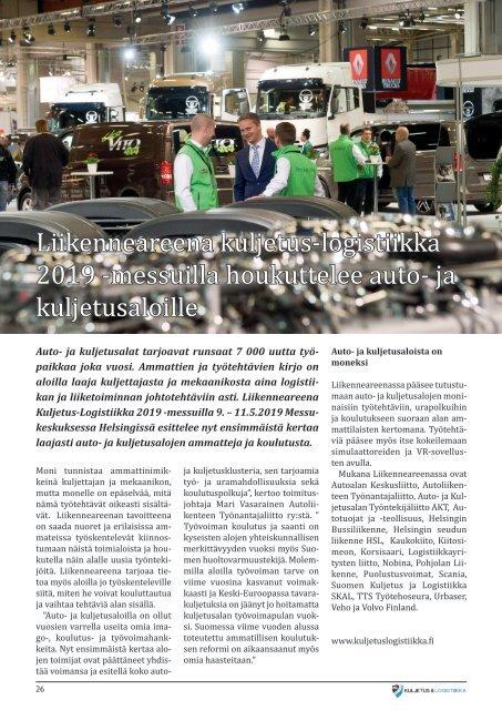 Kuljetus & Logistiikka 1 / 2019