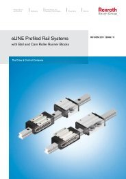 eLINE Profiled Rail Systems