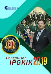 Pengurusan IPG Kampus Ilmu Khas 2019