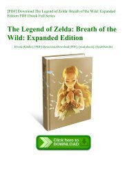 [PDF] Download The Legend of Zelda Breath of the Wild Expanded Edition PDF Ebook Full Series