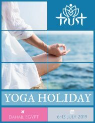 Egypt Yoga Holiday Flyer (1)