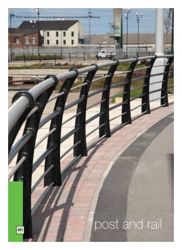 Post and Rail Systems - RIBA Product Selector