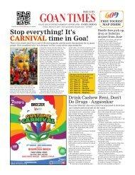 GoanTimes March 1, 2019 issue