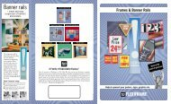 Frames & Banner Rails A Family of Dependable Displays - iolabs