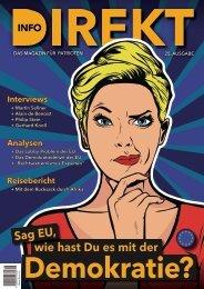 Magazin Info-DIREKT, Ausgabe 25