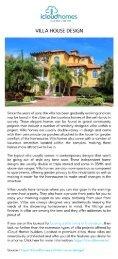 Villa House Designs   Villas in Trivandrum   iCloud Homes