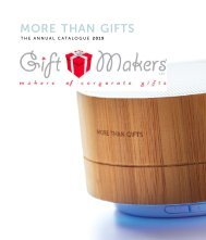 GiFT MAKERS CORPORATE Gifts UNIQUE GIFTS Catalogue MID EAST CAT 2019