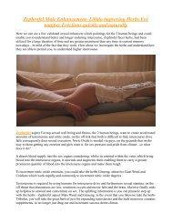 Zephrofel Male Enhancement :Get Maximum Sexual Benefits