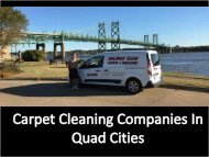 Get the Best Carpet Cleaning Company | Amazingly Clean by Jay Gegner