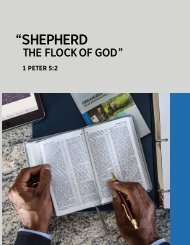 Shepherd the Flock of God 2019 edition(1)