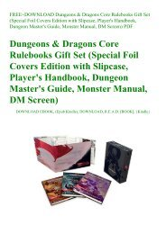 epub download} Dungeons & Dragons Guildmasters' Guide to