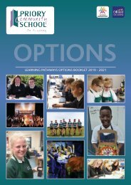Priory Options Book