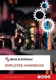 Monthly Employee Handbook