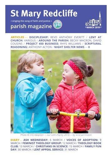 St Mary Redcliffe Parish Magazine March 2019