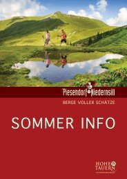 Sommerinfo Niedernsil