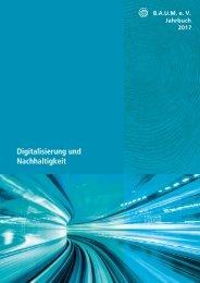 B.A.U.M.-Jahrbuch 2017: Digitalisierung und Nachhaltigkeit