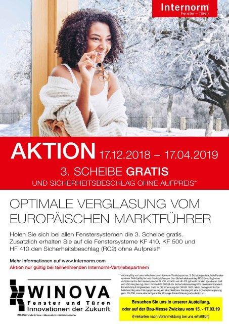 Internorm Fenster und Türen - 06.03.2019