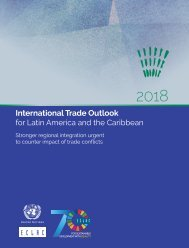 International Trade Outlook for Latin America and the Caribbean 2018: Stronger regional integration urgent to counter impact of trade conflicts