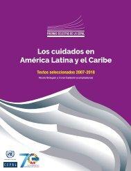 Los cuidados en América Latina y el Caribe. Textos seleccionados 2007-2018