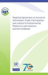 Regional Agreement on Access to Information, Public Participation and Justice in Environmental Matters in Latin America and the Caribbean
